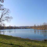 Le petit lac de Champos