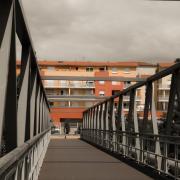 Bourg de Péage : la passerelle