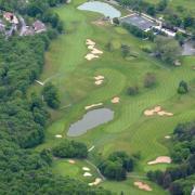 Du salève plongée sur le golf